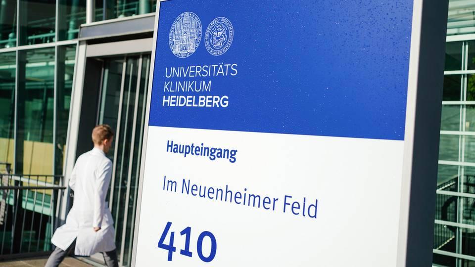 Die Universitätsklinik in Heidelberg: Hier wird einer der neuen Coronavirus-Patienten behandelt
